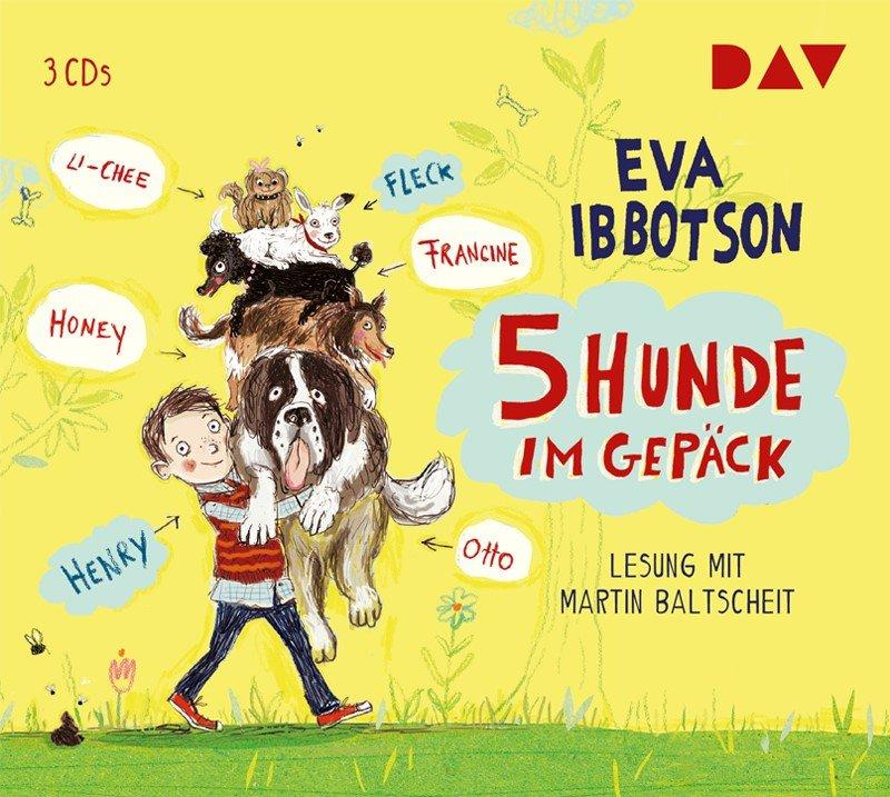 5 Hunde im Gepäck [CD] [Eva Ibbotson]