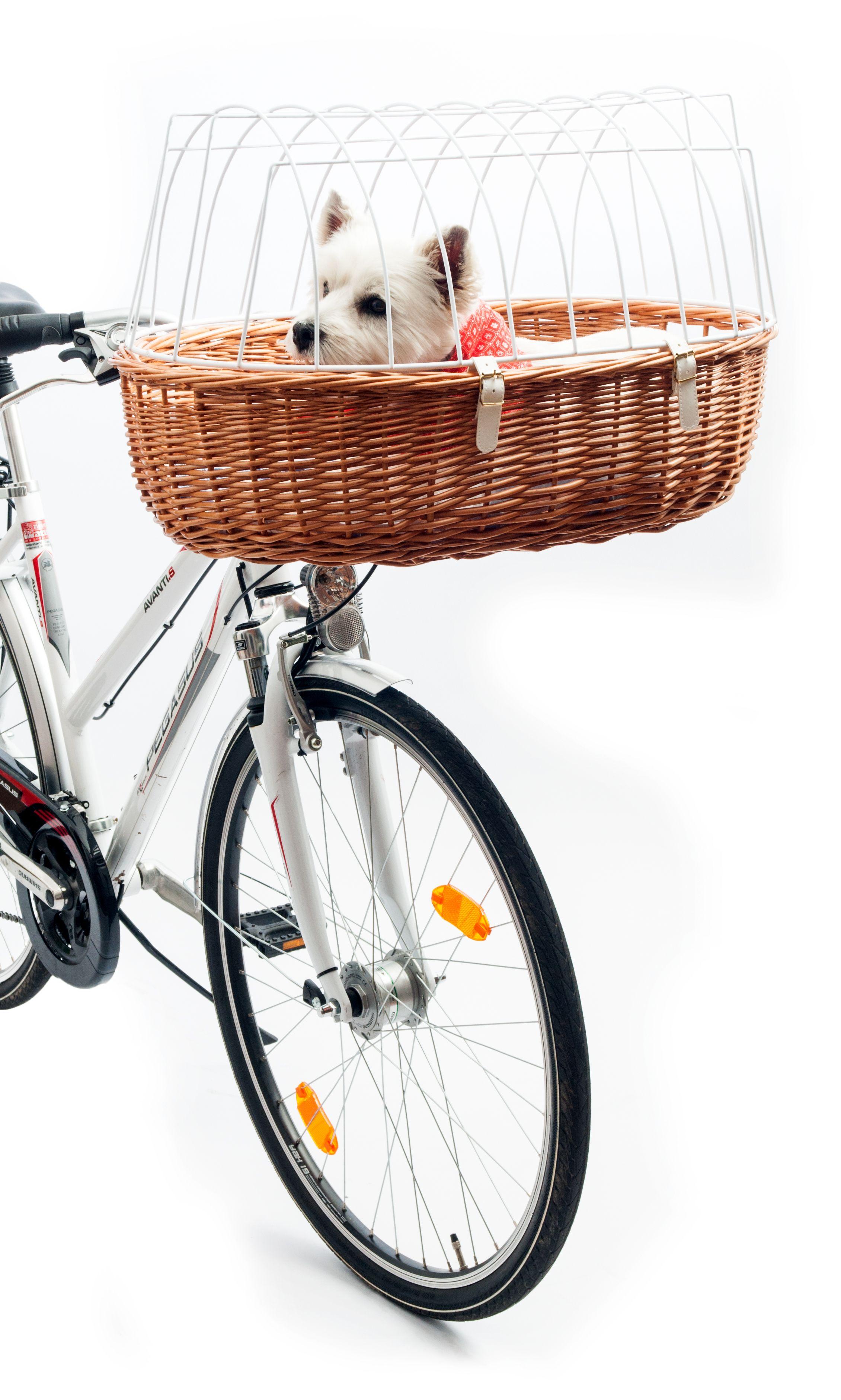 Aumüller E-Bike fähiger Fahrradkorb Maxi mit Steuerkopfmontagesystem 167 70x46x18/40cm