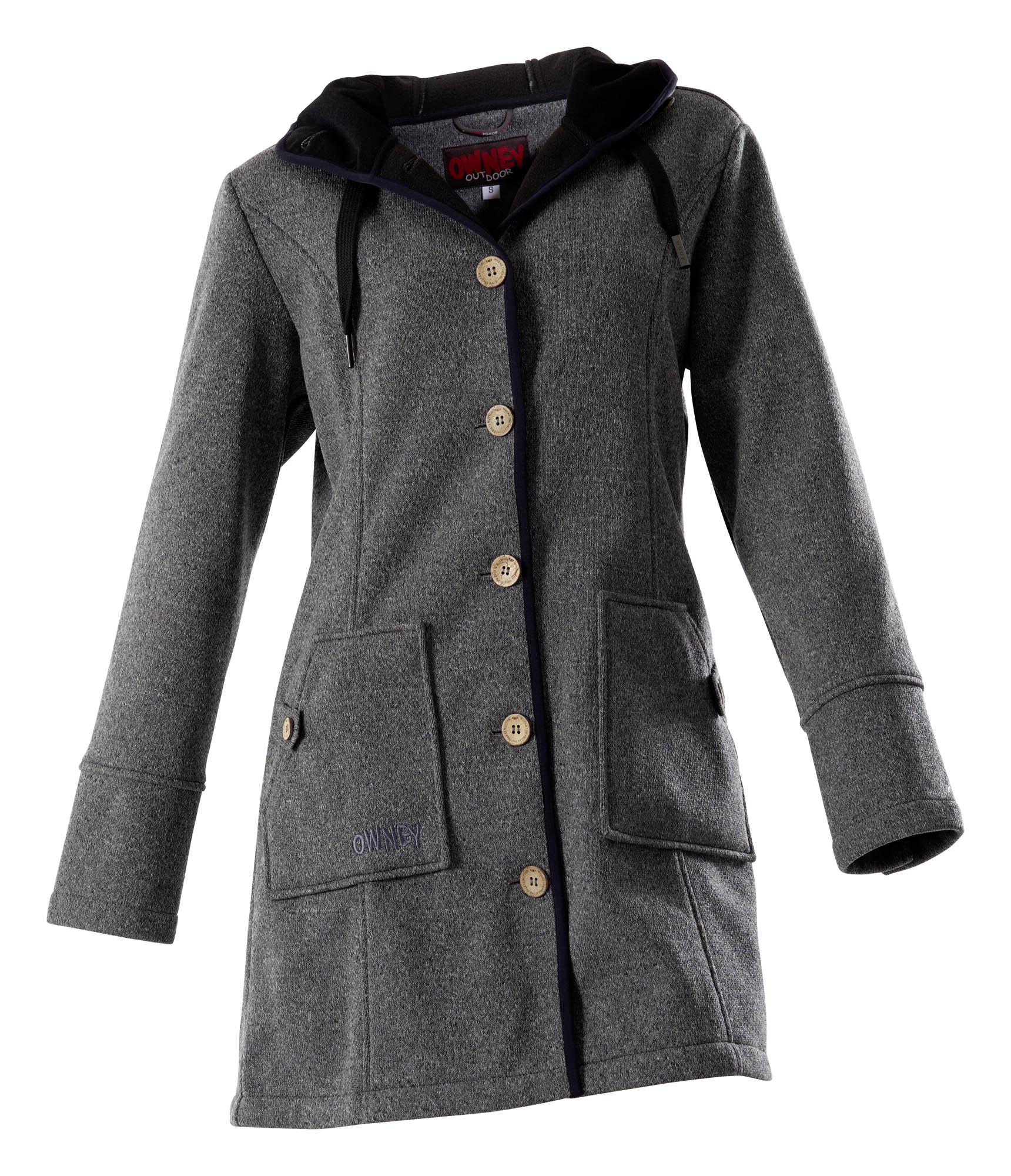 Owney Cosy Softshell Coat grey