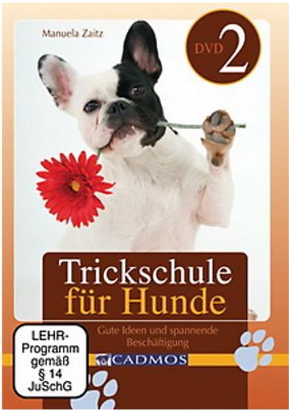 Cadmos - DVD: Trickschule für Hunde II [Zaitz]