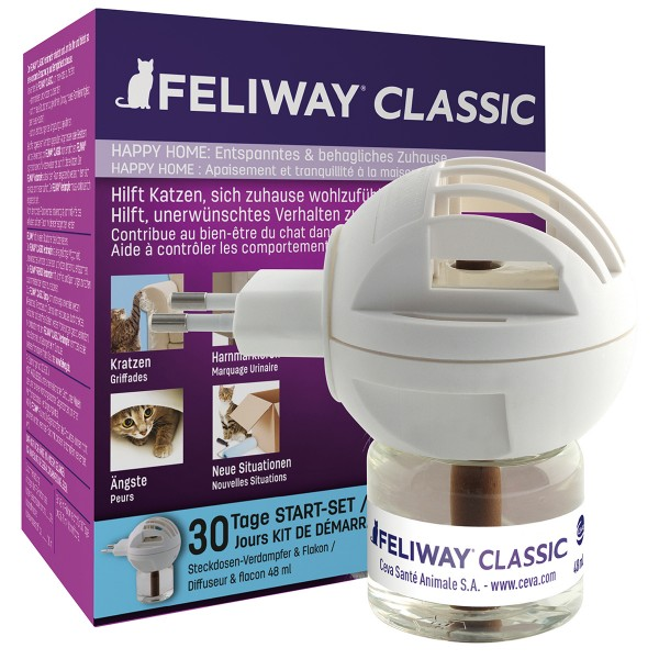 Ceva Cat Feliway Classic Happy Home Start - Set