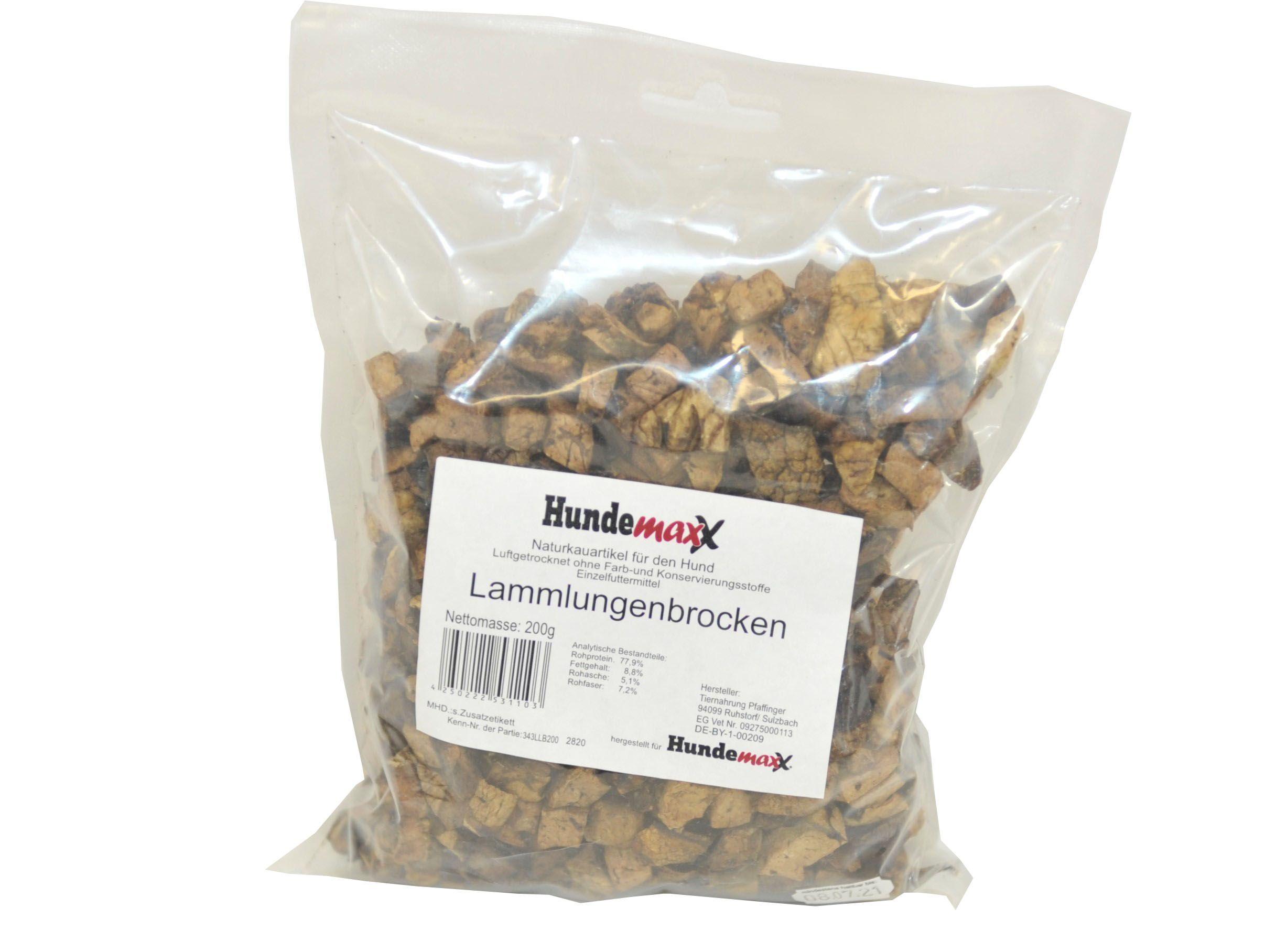 Hundemaxx Lammlungen-Brocken getrocknet