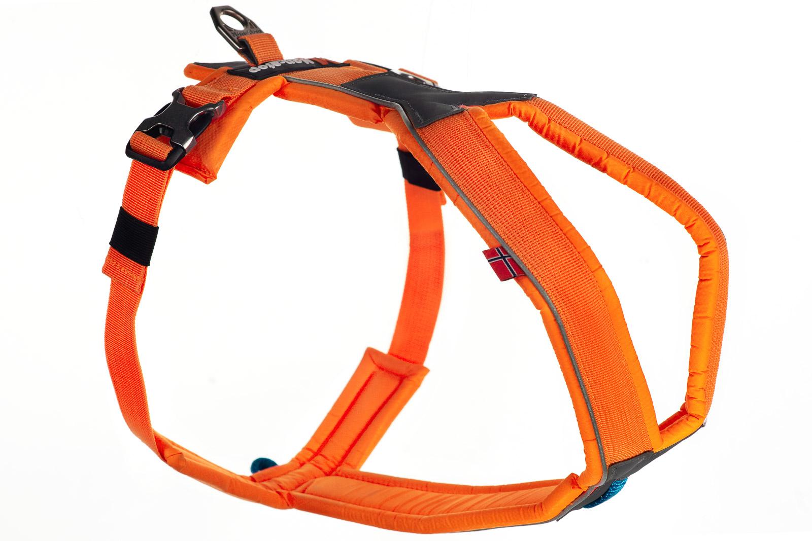 Non-stop dogwear Line Harness, orange