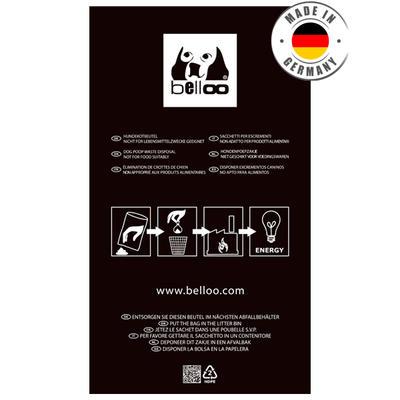 Belloo Hundekotbeutel 50 Stück schwarz