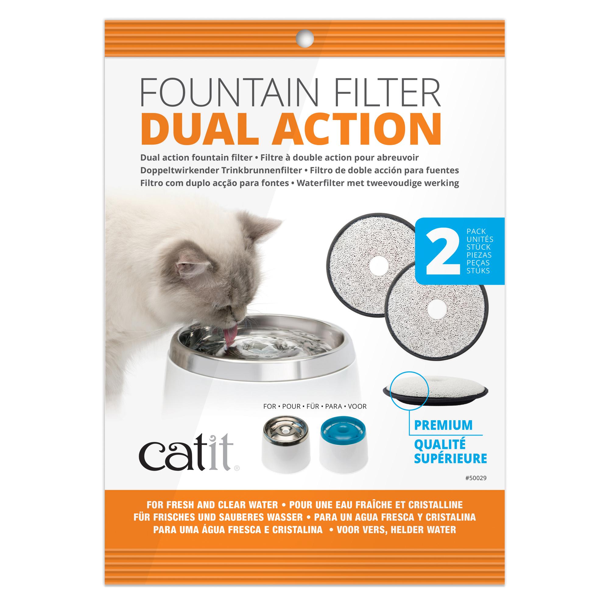 Hagen Catit Premium Ersatzfilter 2er-Pack