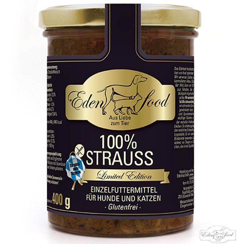 Edenfood 100% Bayerischer Strauss limited edition (400g)