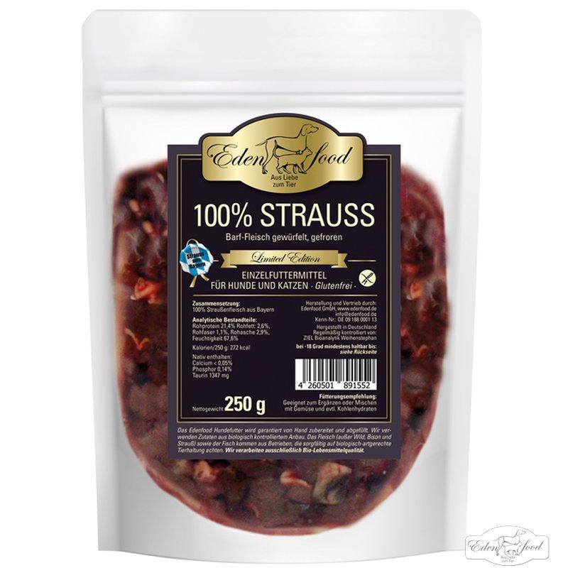 Edenfood 100% BARF Bayerischer Strauss ltd. Edition (250g)