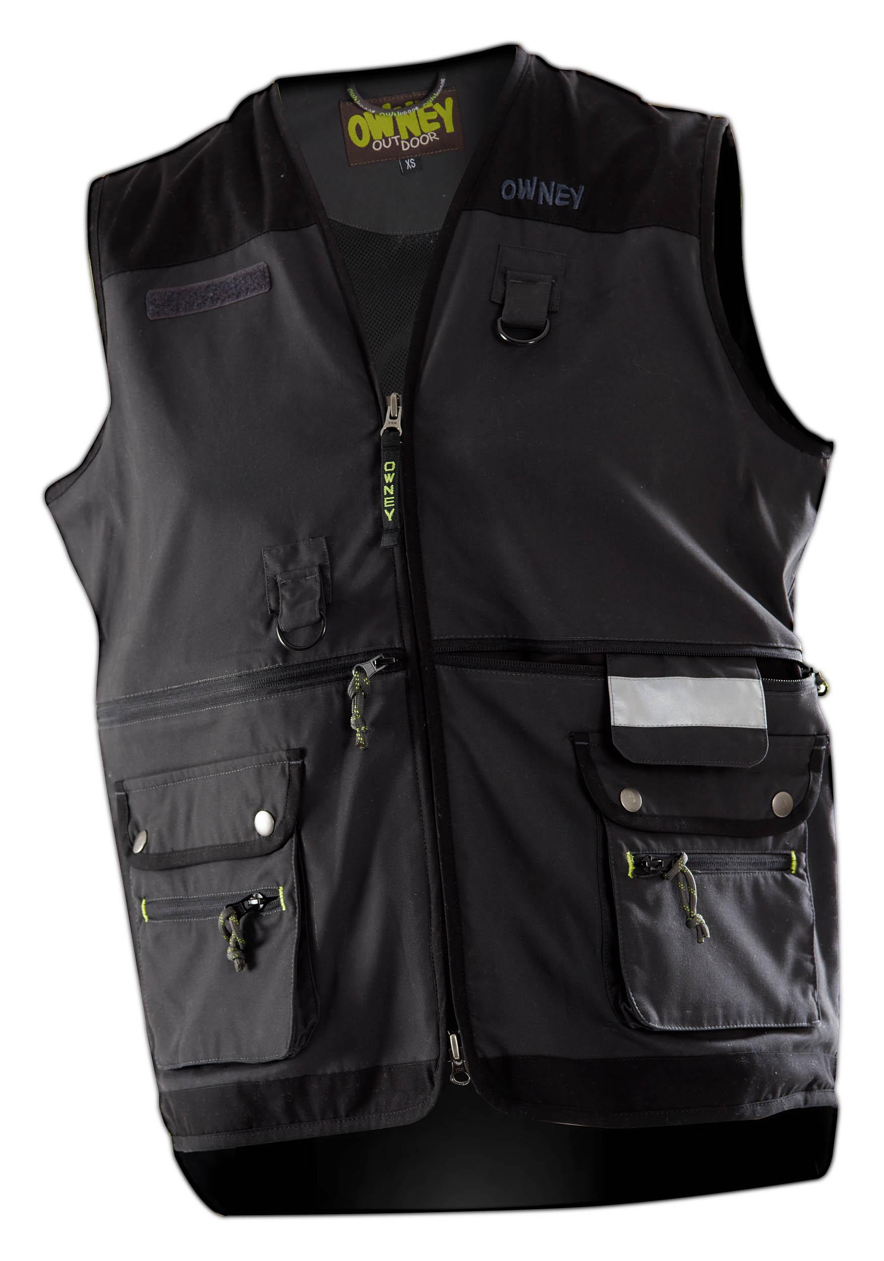 Owney Dog Sport Vest anthracite
