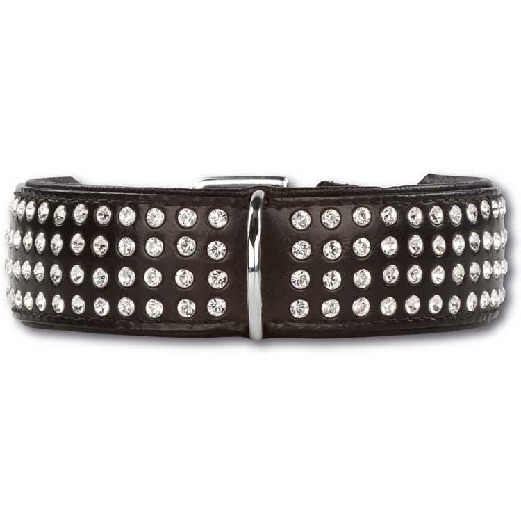 Doxtasy Halsband Swarovski Strass Extreme Black/White