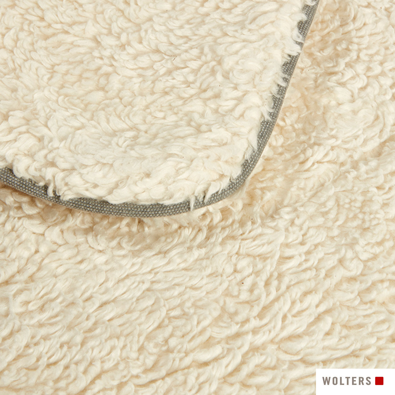 Wolters Green Line Kuscheldecke 100 x 70cm steingrau