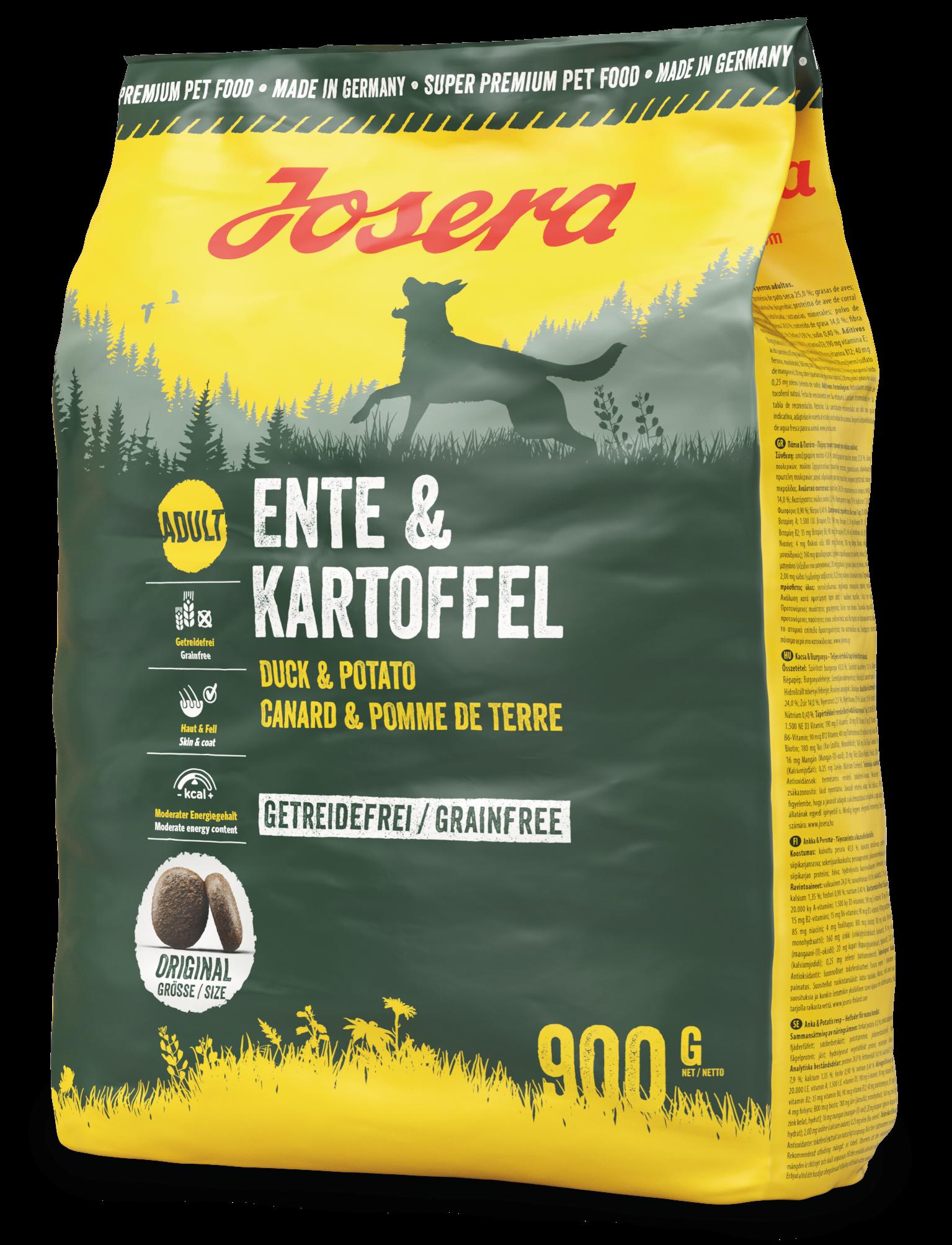 Josera Exklusiv Ente & Kartoffel