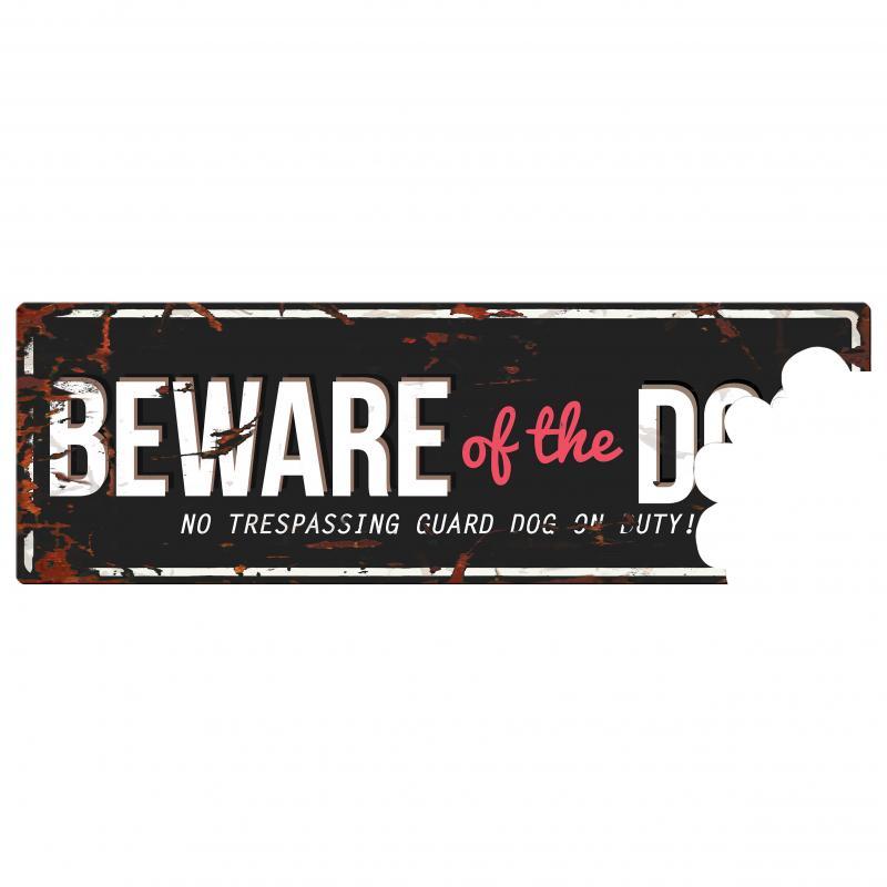 Europet D&D Warnschild -Beware Of The Dog-