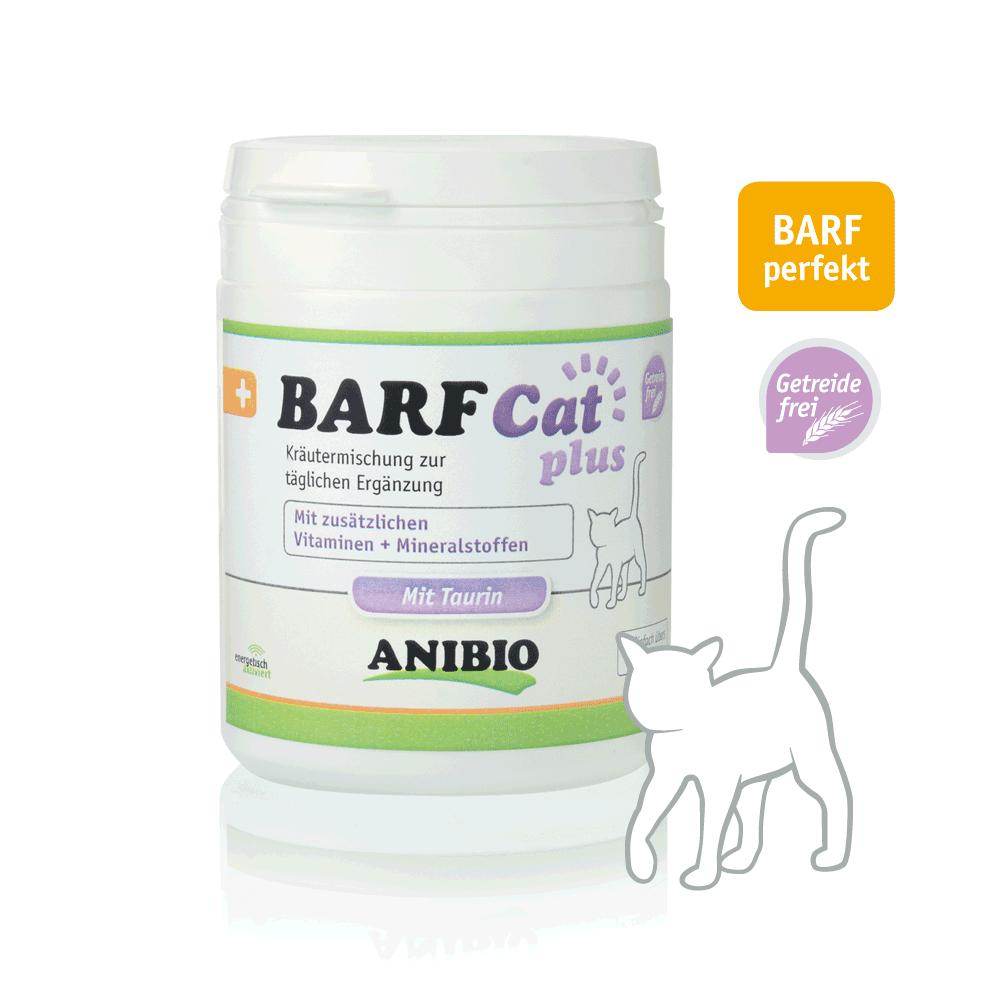 Anibio Barf Cat plus (für Katzen) 120g