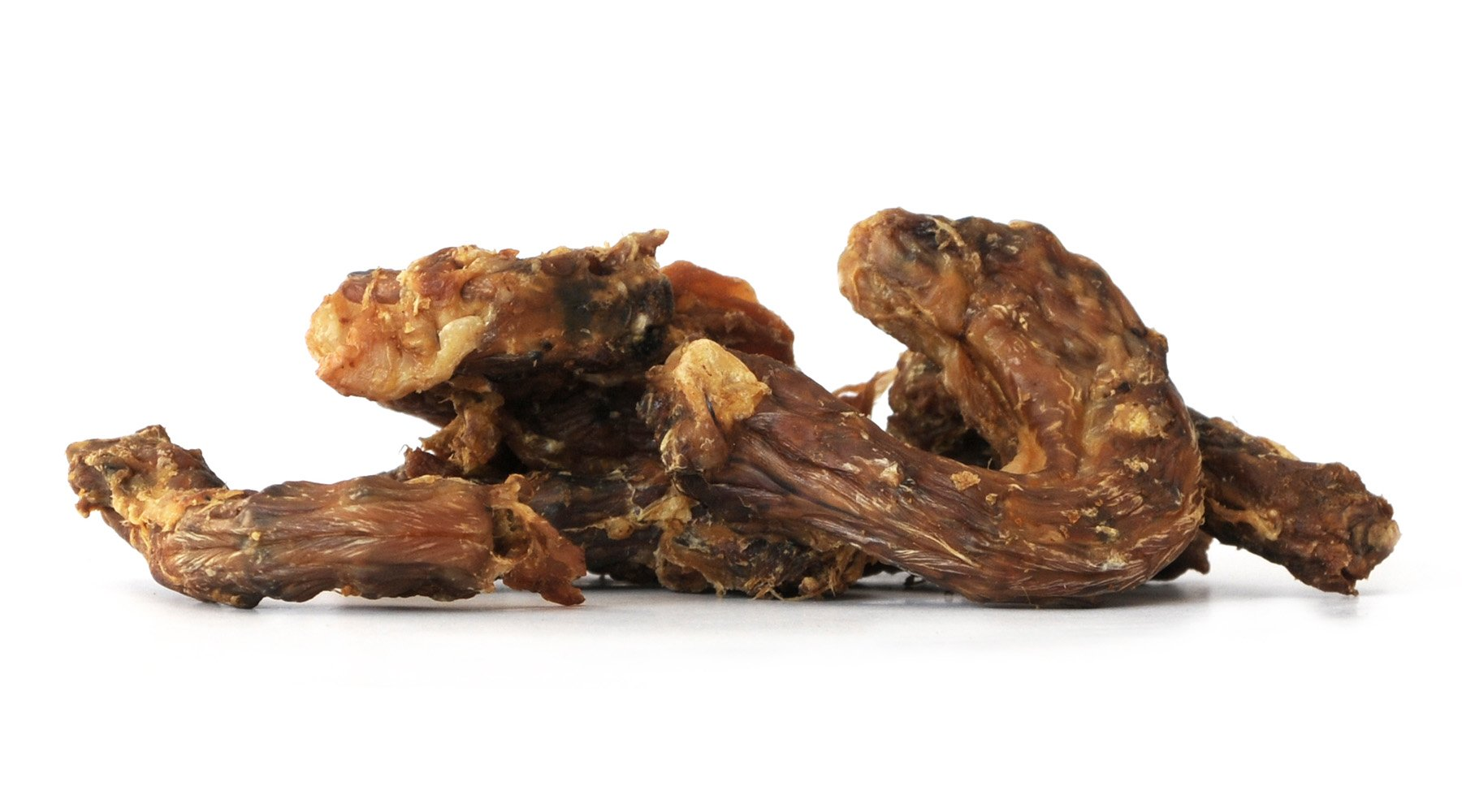 Tackenberg Bio-Hühnerhälse mit Haut, getrocknet 250g