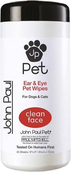 John Paul Pet® Ear & Eye Wipes