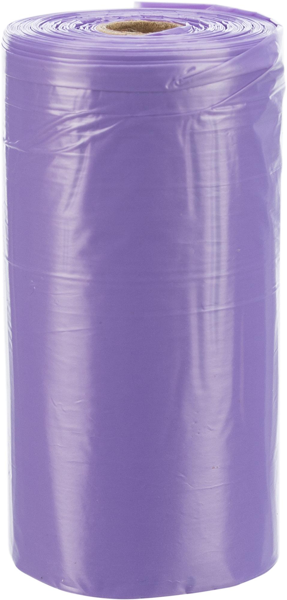 Trixie Dog Pick Up Hundekotbeutel mit Lavendelduft M, 4 Rollen à 20 St., lila