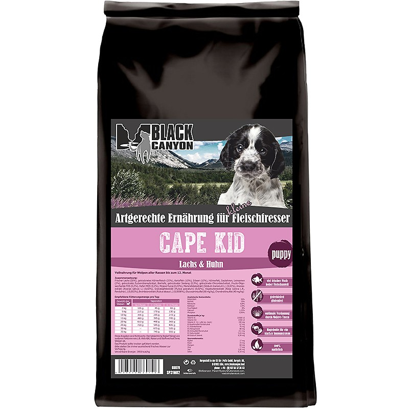 Black Canyon Cape Kid Puppy Lachs & Huhn