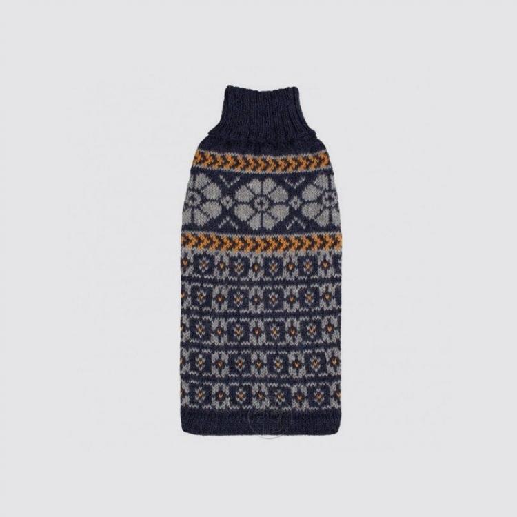 Alqo Wasi Hunde-Pullover Blue harmony M
