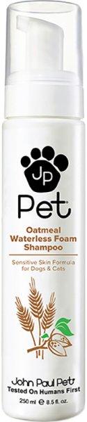 John Paul Pet® Oatmeal Waterless Foam Shampoo 250ml