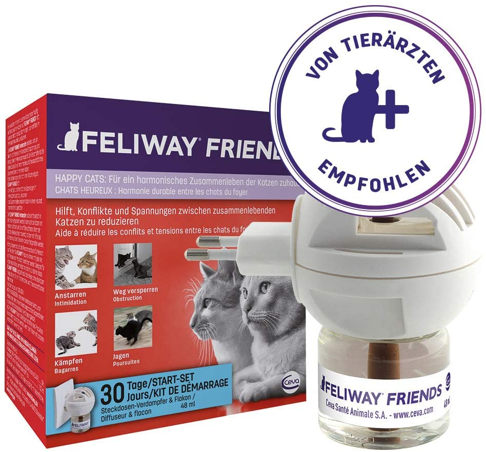Ceva Cat Feliway Friends Happy Start-Set