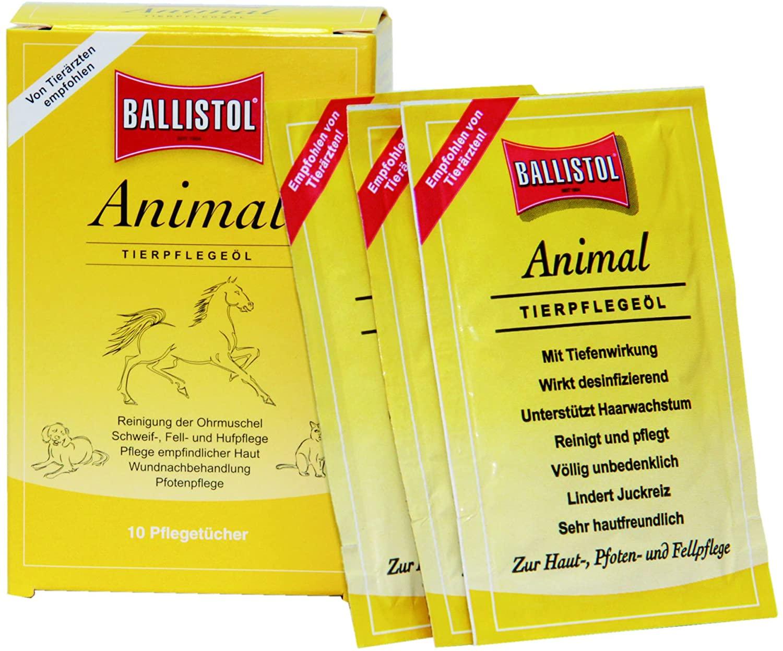 Ballistol Animal Tücher-Box á 10 St.