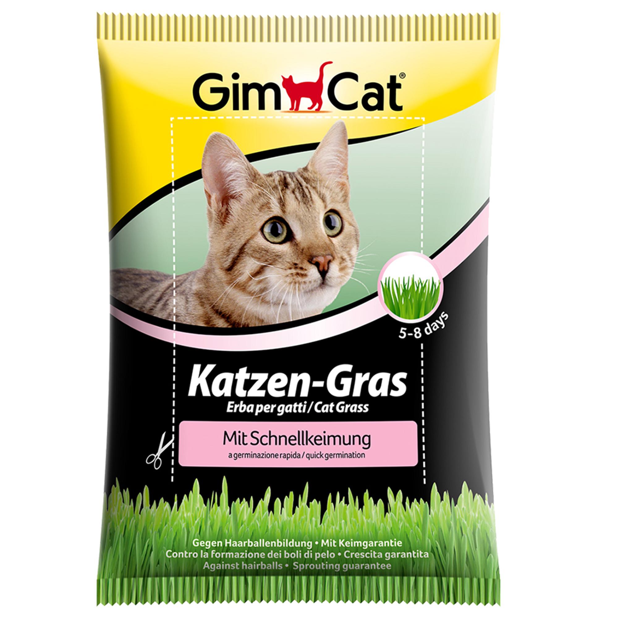 GimCat Katzen-Gras mit Schnellkeimung 100g