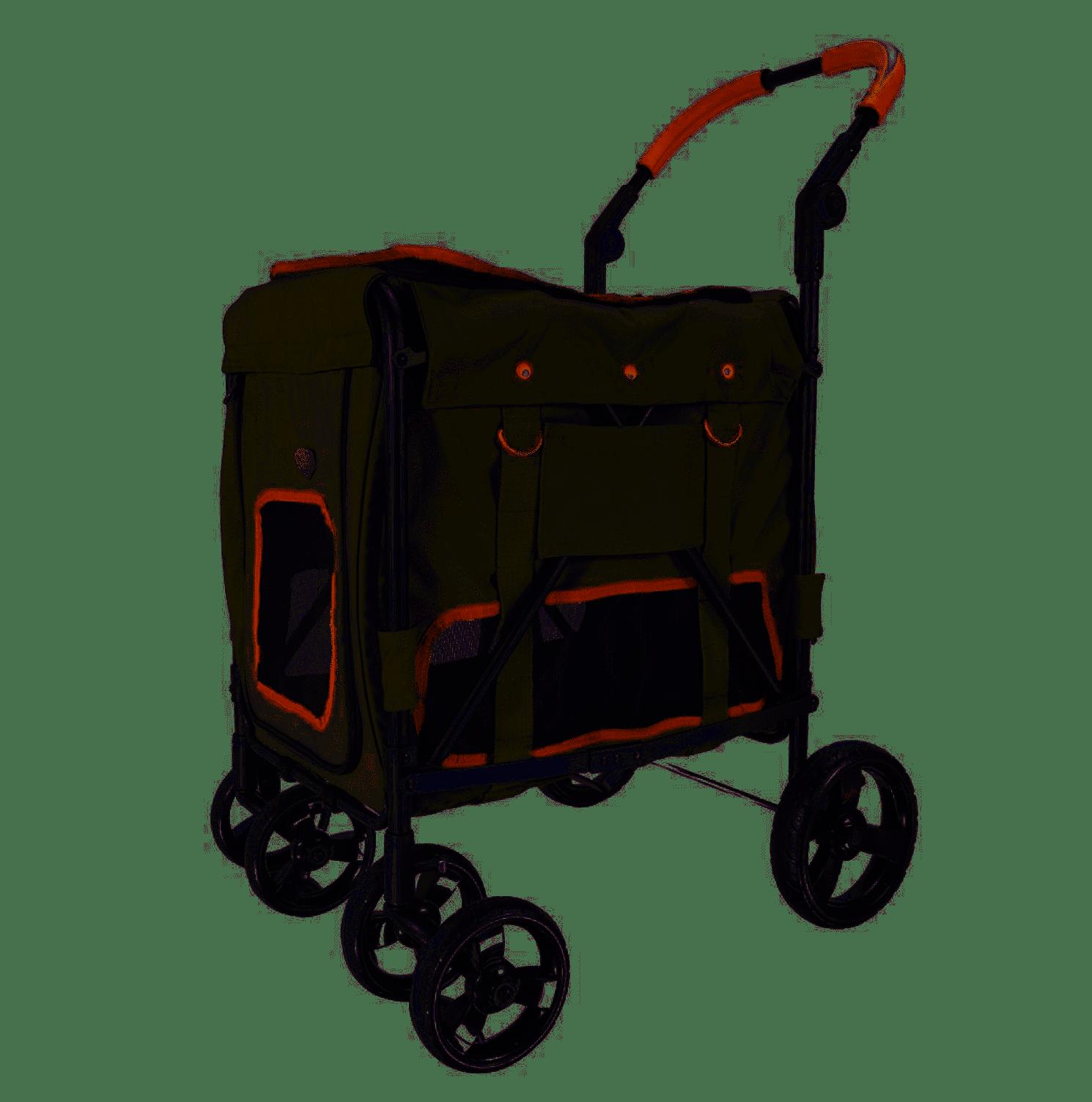 Ibiyaya® Hundebuggy Gentle Giant Pet Wagon - Army Green
