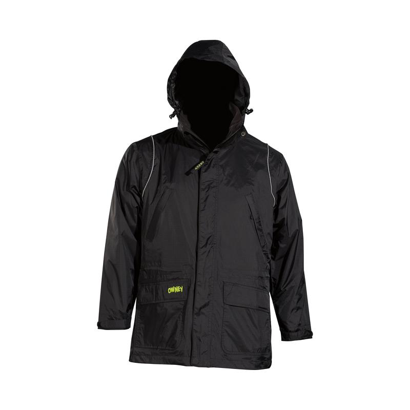 Owney Allaq Rain Jacket black