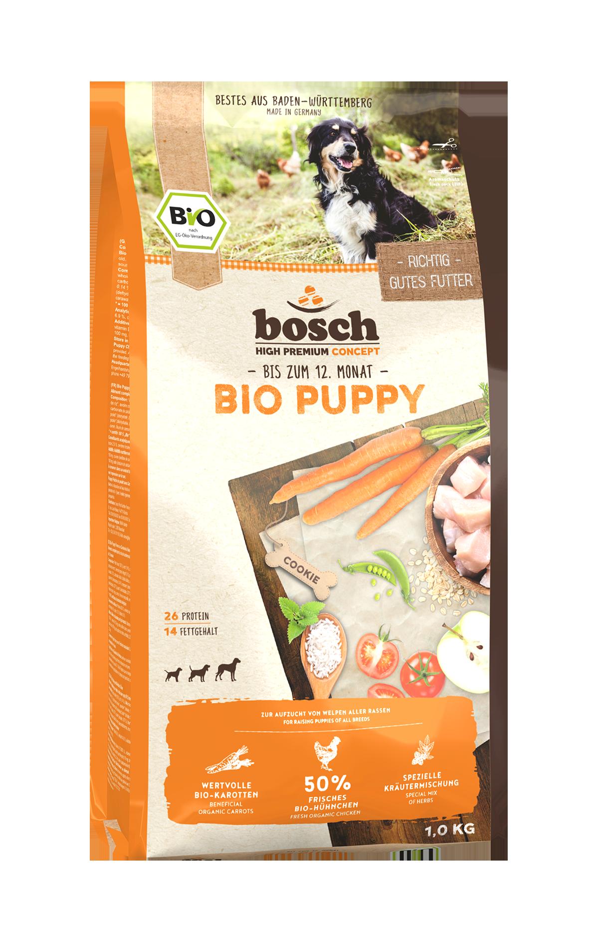 Bosch Bio Puppy Hühnchen+Karotten