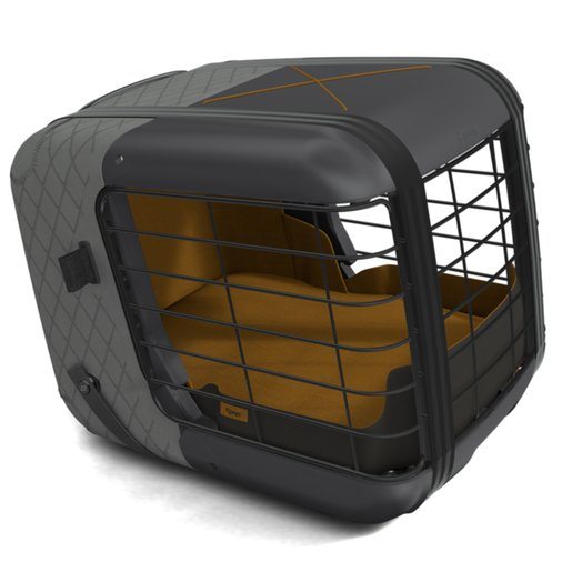 4Pets Dog Caree Transportbox Smoked Pearl