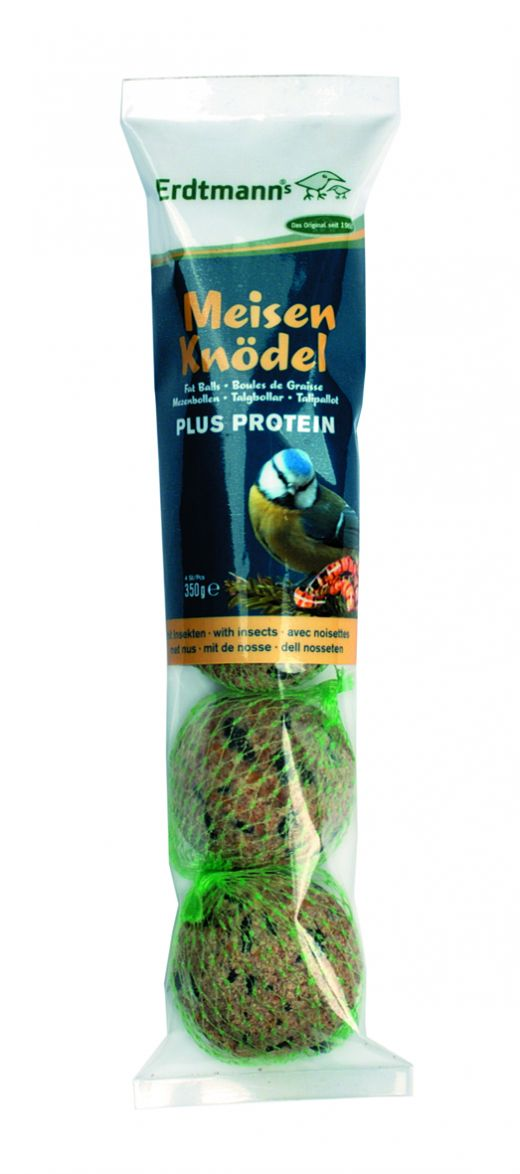 Erdtmann Meisenknödel PLUS Protein 4 Stück