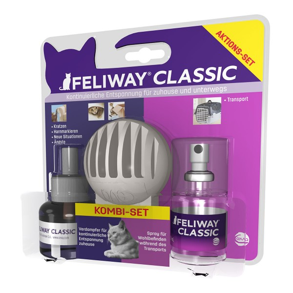 Ceva Cat Feliway Classic Kombi-Set