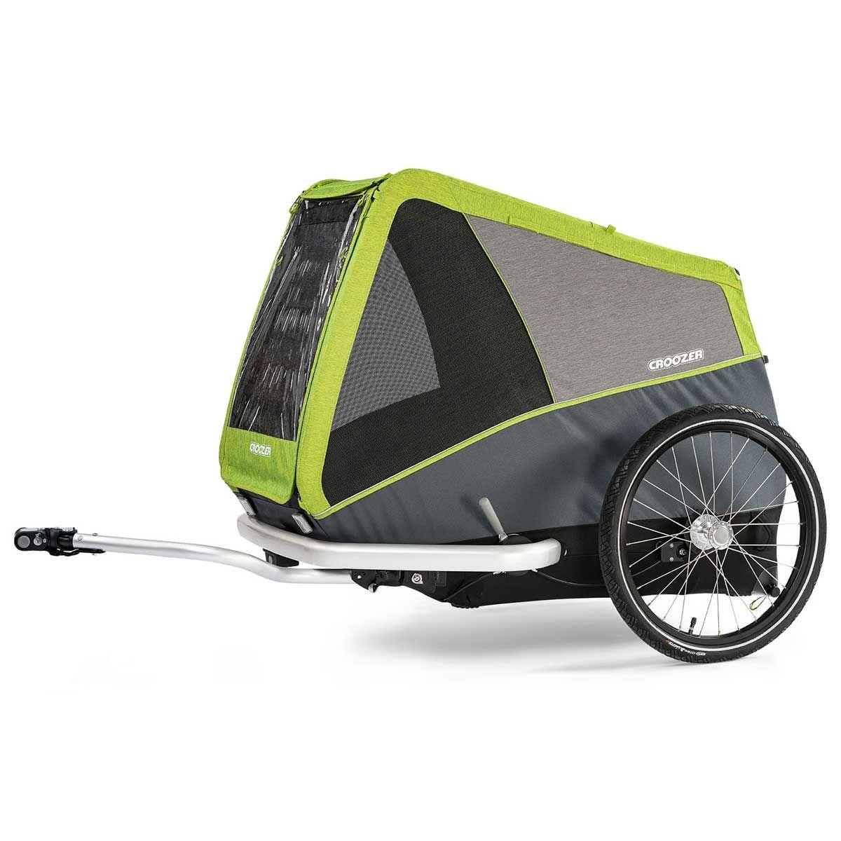 Croozer Dog XL Jokke Grasshopper green mit Achskupplung Click & Crooz®