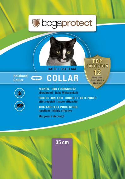 Bogacare Anti-Parasit Halsband Katze 35cm