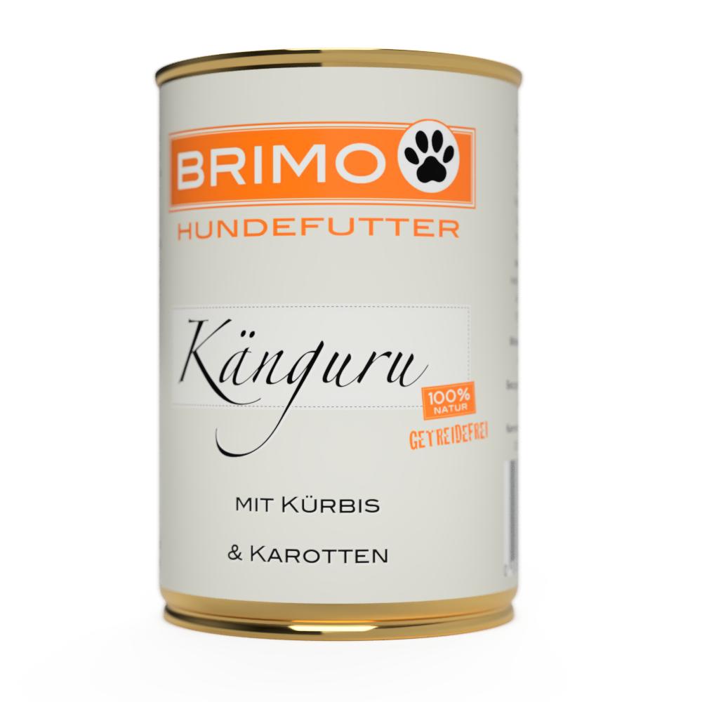 BRIMO Känguru mit Kürbis