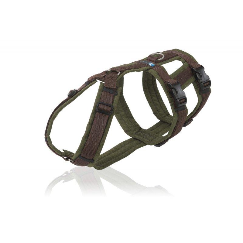 annyx Geschirr Safety oliv / braun
