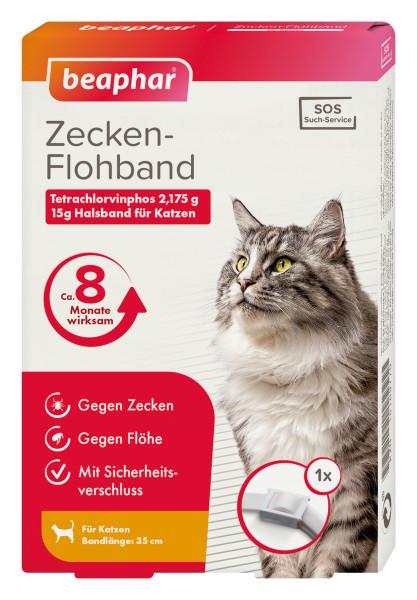 Beaphar Zecken- & Flohschutz Halsband 35cm Katze