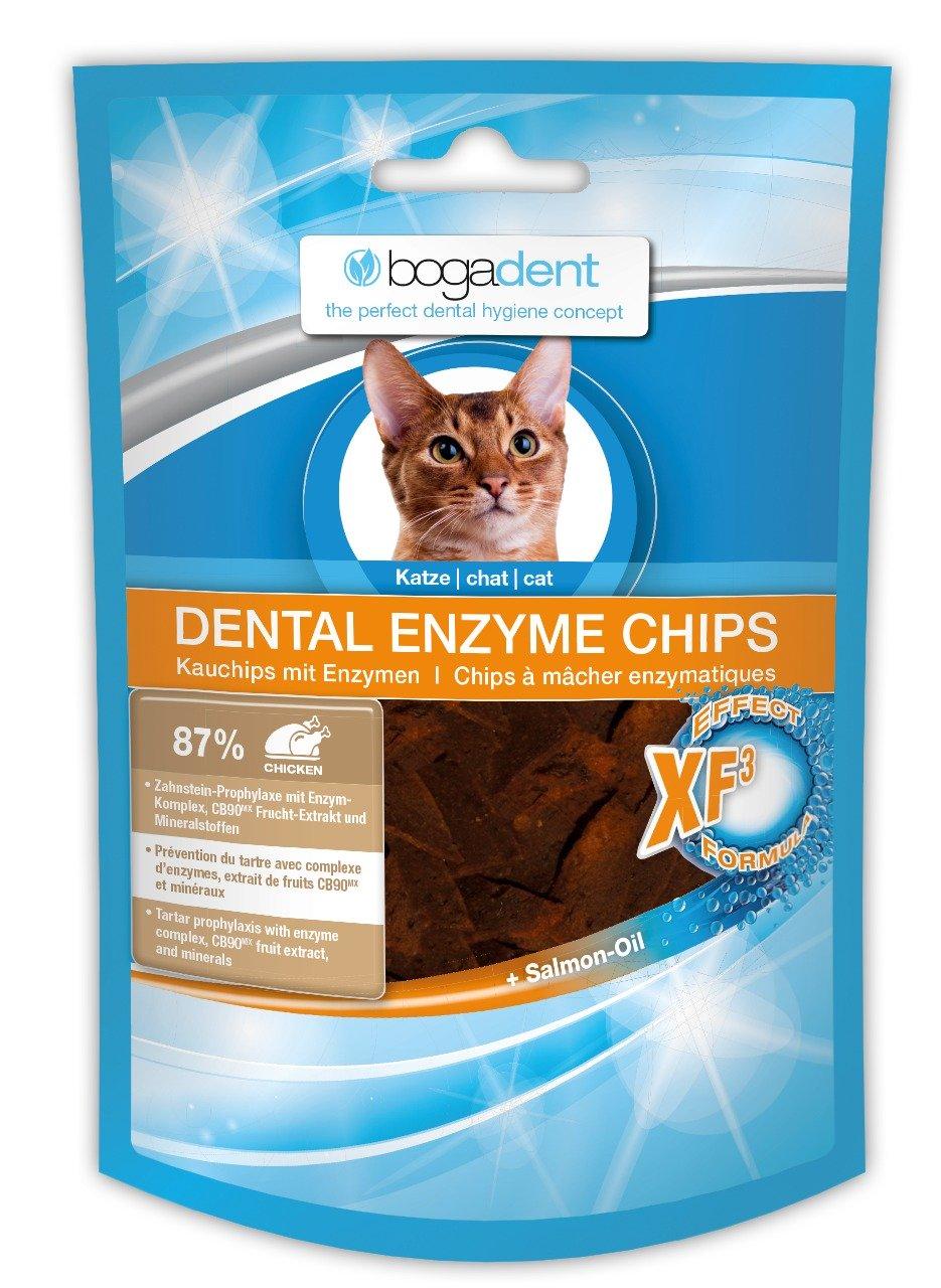 Bogadent Dental Enzyme Chips Katze 50g