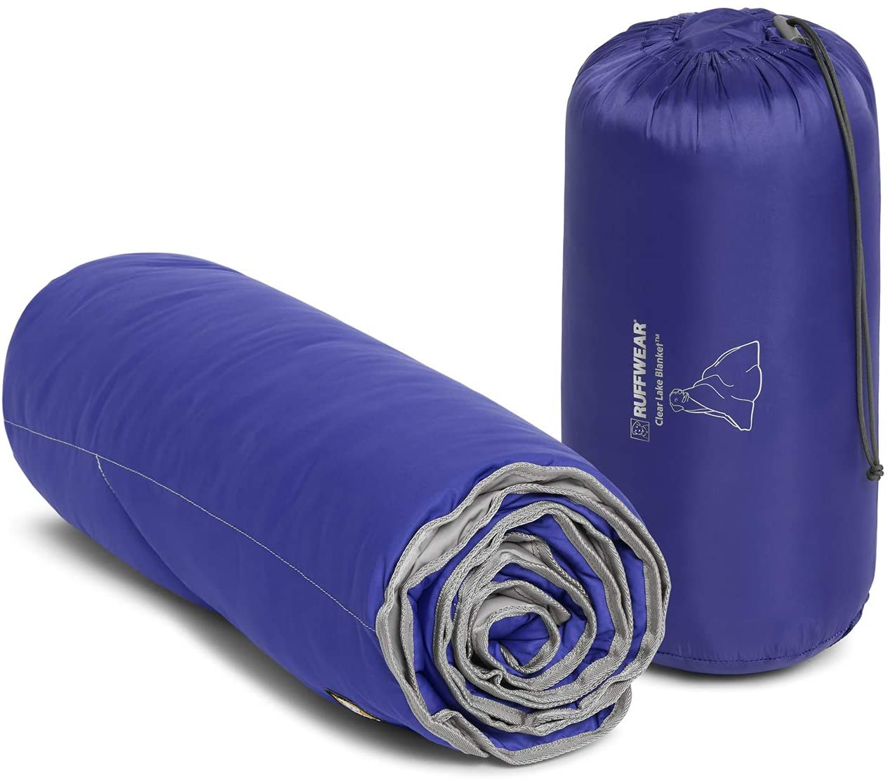Ruffwear Clear Lake Blanket Huckleberry Blue one size