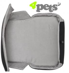 4Pets Dog Polster/Cushion für Caree Cool Grey