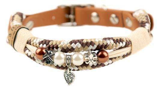 Emmy & Pepe Halsband mit Perlen Provence