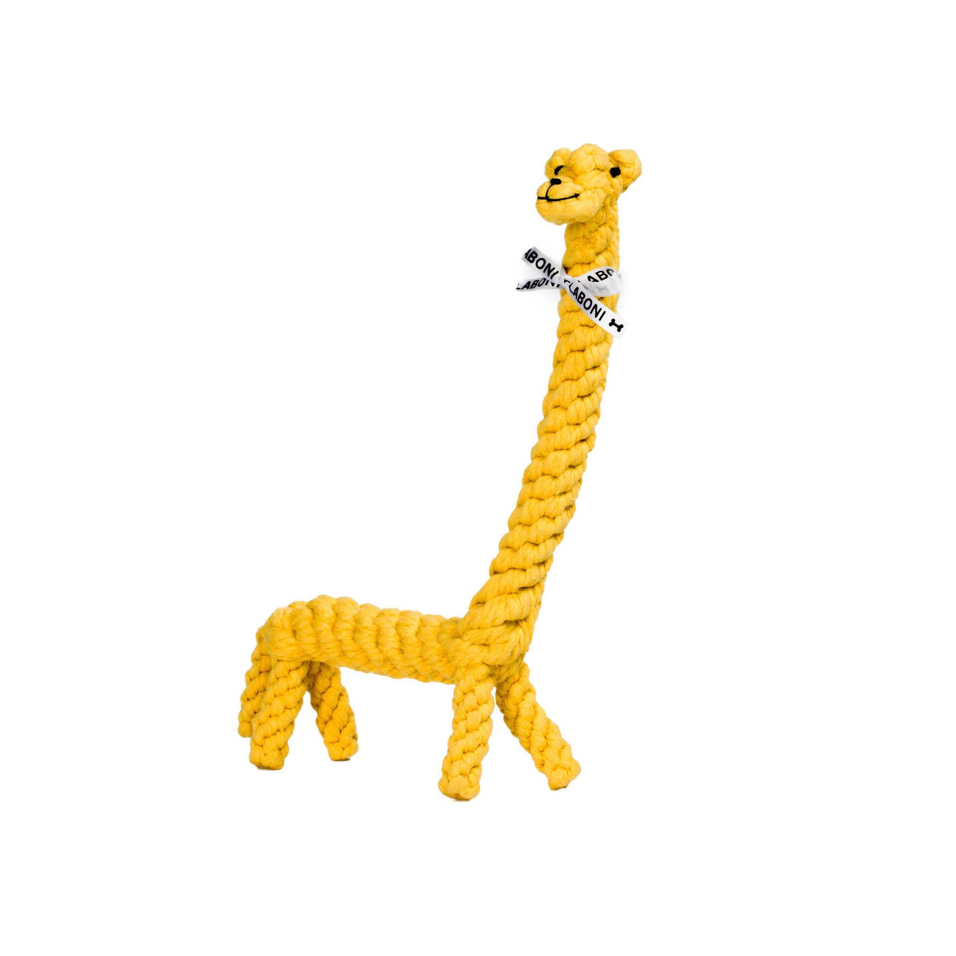 Laboni Hundespielzeug Greta Giraffe gelb 40cm
