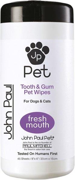 John Paul Pet® Tooth & Gum Wipes