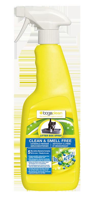 Bogaclean Clean & Smell Free Litter Box Spray Katze 500ml