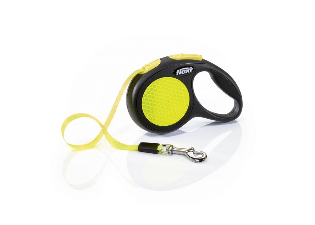Flexi New Neon mit Gurtband