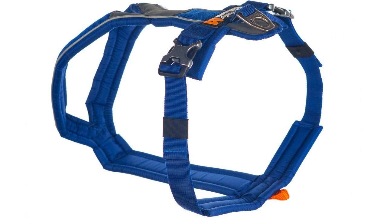 Non-stop dogwear Line Harness, blue