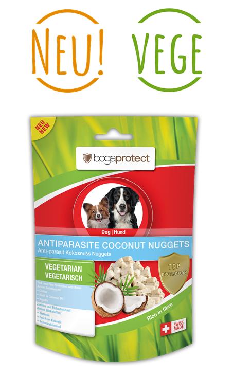 Bogadent Antiparasite Coconut Nuggets Hund 100g