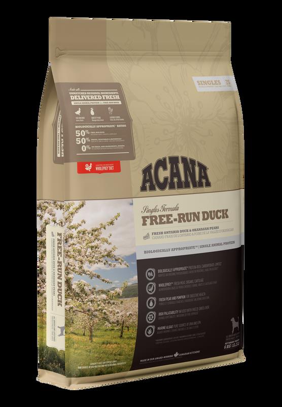 Acana Singles - Free Run Duck